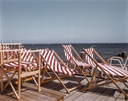 chairs in the sun, provincetown, cape cod, 1984 by joel meyerowitz