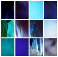 'blau', from the series '13 farben' by hanno otten