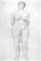 weiblicher akt by hans aeschbacher