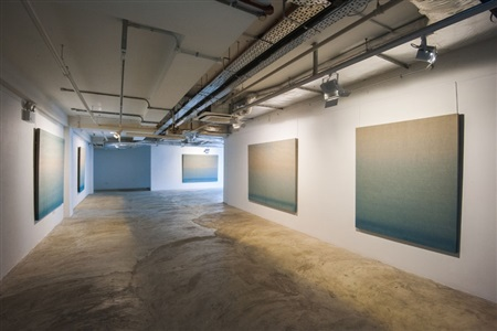 agathe de bailliencourt: water, colour, recordings (installation view)
