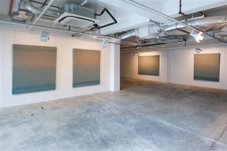 agathe de bailliencourt water colour recordings installation view