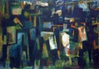 city nocturne by maurice golubov