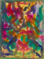garden abstraction by beauford delaney