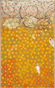 hanging gardens series (fireglow) by robert rahway zakanitch