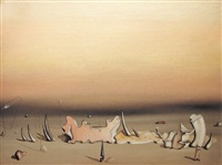 le lourd palais by yves tanguy