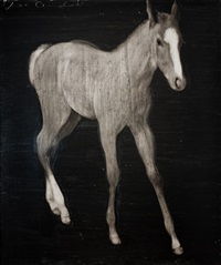 untitled (horse) by joe andoe