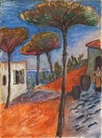 pinien / pines by marianne werefkin