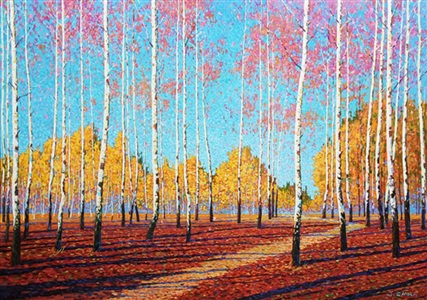 resplendence of autumn by jack zhou