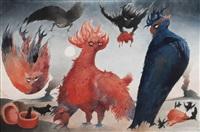the birds by edward burra