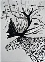 botanical deer by inci eviner