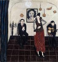 the flamenco dancer by gary pearson