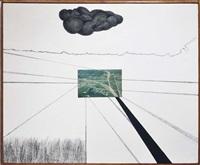 double overpass #2 by allan d'arcangelo