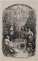 frontispiece de la revue faintaisiste by rodolphe bresdin