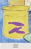 corn soup by john baldessari