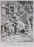 de vermaarde schoenmaaker (the famous shoemaker) by cornelis dusart