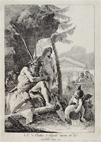 river gods by giovanni domenico tiepolo