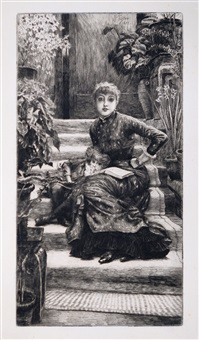 la souer aînée (the older sister) by james jacques joseph tissot