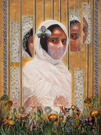 through the looking glass-child bride by shurooq amin