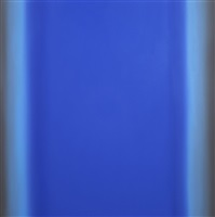 blue orange 14-s6060 (violet blue deep), interplay series by ruth pastine