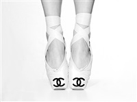 chanel ballet shoes by tyler shields