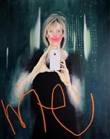 selfie art by george morton-clark