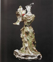figura femminile by lucio fontana