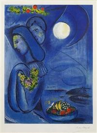 saint jean cap ferrat by marc chagall