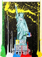 liberty by mr. brainwash