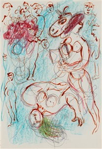 surreale begegnungen by marc chagall