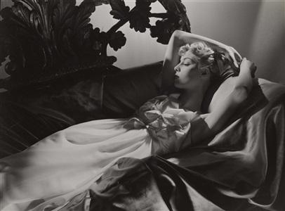 helen bennett, paris studio, 1938 by horst p. horst
