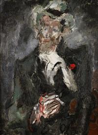 homme de lettres: portrait de monsieur séché by gen paul