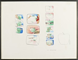 untitled (no. 5 aphorisms / with apple?) by allen jones