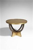 table guéridon / pedestal table by eugene printz