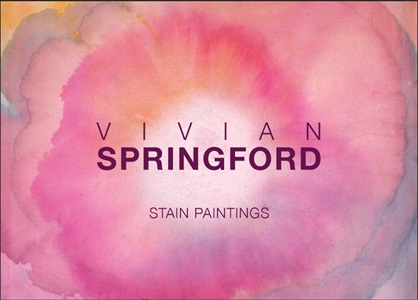 stain paintings by vivian springford