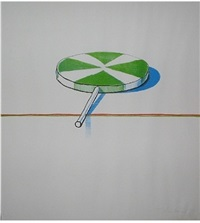 untitled by wayne thiebaud