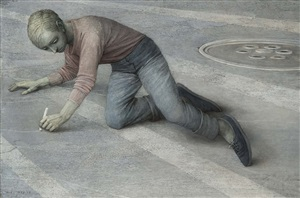 a piece of chalk by robert remsen vickrey