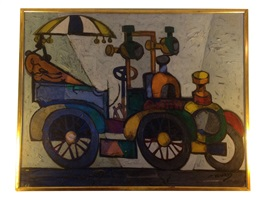 untitled (car) by claude venard