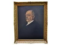portrait of otto fürst von bismark by franz seraph von lenbach