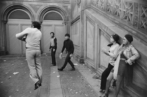 central park, new york by garry winogrand