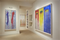 pat steir installation at meyerovich gallery by pat steir