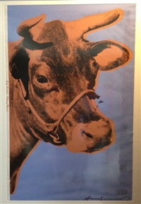 cow (ii.11a) by andy warhol