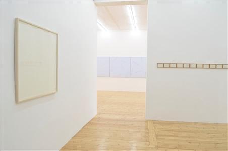 robert barry new works exhibition view sfeir semler hamburg 2014