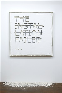 the installation failed… by rero