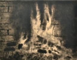 kleines feuer by jiri georg dokoupil