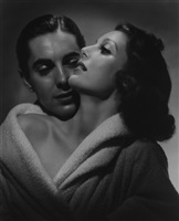 loretta young tyrone power by george hurrell