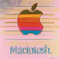 apple by andy warhol