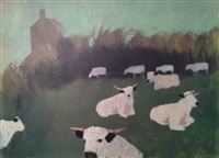 cows by mary newcomb