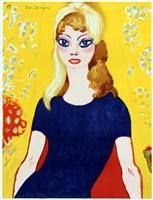 brigitte bardot by kees van dongen