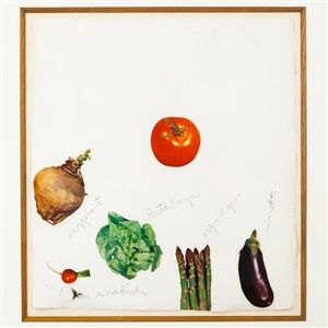 vegetables 3 by jim dine