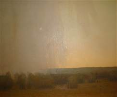 distant showers by russell chatham